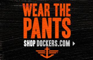 Docker's: 'Wear the Pants' Banners