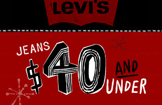 Levi's: 40 and Under Banner Campaign